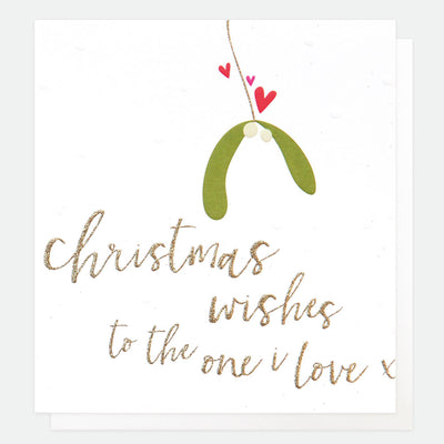 luxury-single-christmas-card-for-the-one-i-love-lcx031-Single Cards-1