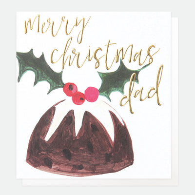 pudding-christmas-card-for-dad-qux004-Single Cards-1