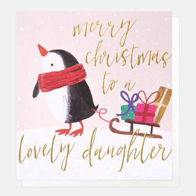 penguin-christmas-card-for-daughter-qux009-Single Cards-1