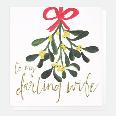 mistletoe-christmas-card-for-wife-qux011-Single Cards-1
