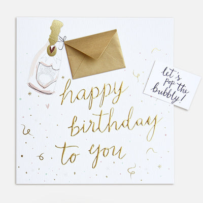 mini-envelope-champagne-birthday-card-kep001-Single Cards-1