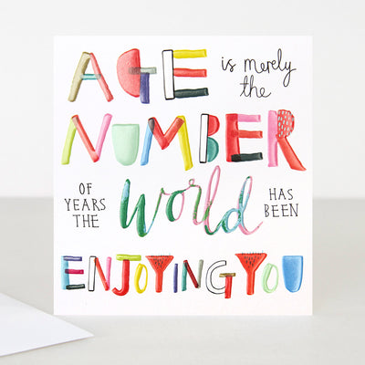 age-is-merely-the-number-birthday-card-tad003-Single Cards-1