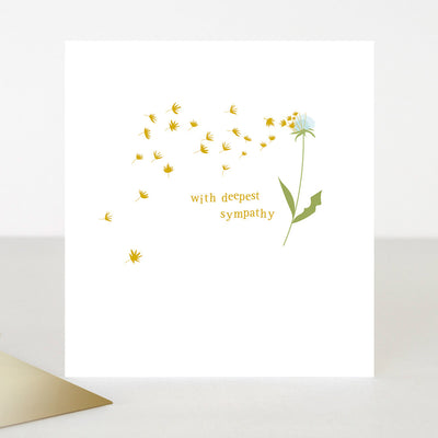 little-dandelion-with-deepest-sympathy-card-toe024-Single Cards-1