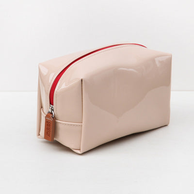 nude-patent-cube-cosmetic-bag-bxc102-Cosmetic Bags-1