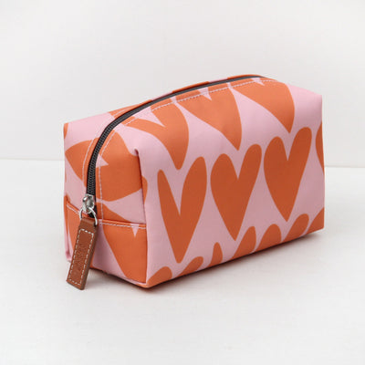 orange-hearts-cube-cosmetic-bag-bxc103-Cosmetic Bags-1