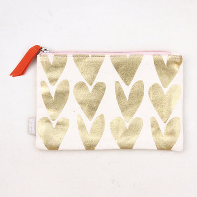 gold-canvas-hearts-pouch-cnv100-Purses and Pouches-1