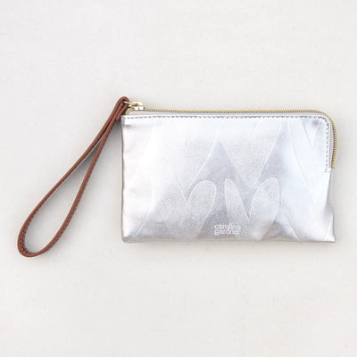 silver-hearts-wristlet-purse-esp103-Purses and Pouches-1