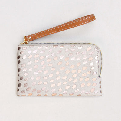 rose-gold-dotty-wristlet-purse-esp100-Purses and Pouches-1