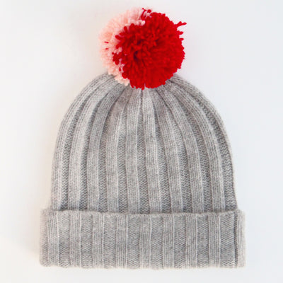 light-grey-cashmere-bobble-hat-with-wool-pom-da6324-Hats-1