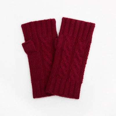 burgundy-cashmere-cable-knit-wrist-warmers-da4526-Gloves-1
