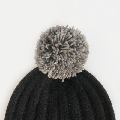 charcoal-wool-hat-pom-da5962-Pom Poms-1