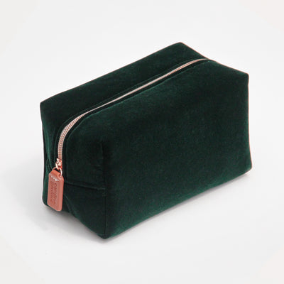 dark-green-velvet-cube-cosmetic-bag-vlv101-Cosmetic Bags-1