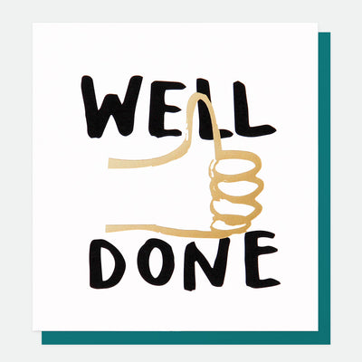 bold-thumbs-up-well-done-card-beb002-Single Cards-1