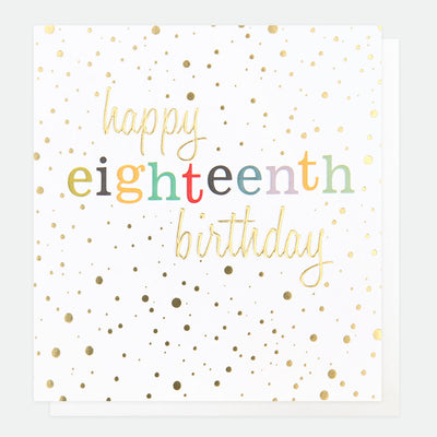 gold-confetti-18th-birthday-card-con018-Single Cards-1