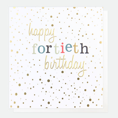 gold-confetti-40th-birthday-card-con021-Single Cards-1