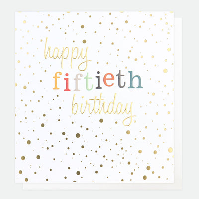 gold-confetti-50th-birthday-card-con022-Single Cards-1