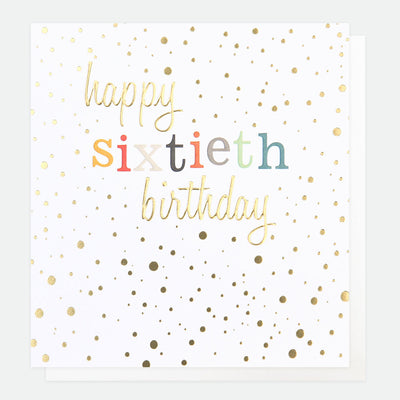 gold-confetti-60th-birthday-card-con023-Single Cards-1