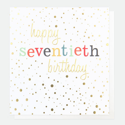 gold-confetti-70th-birthday-card-con024-Single Cards-1