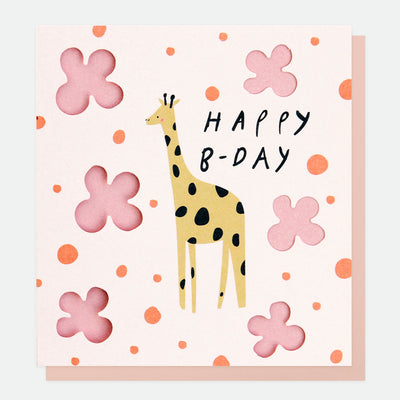 cut-out-giraffe-birthday-card-cut004-Single Cards-1