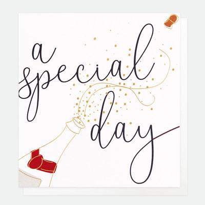 champagne-a-special-day-wedding-card-gng012-Single Cards-1