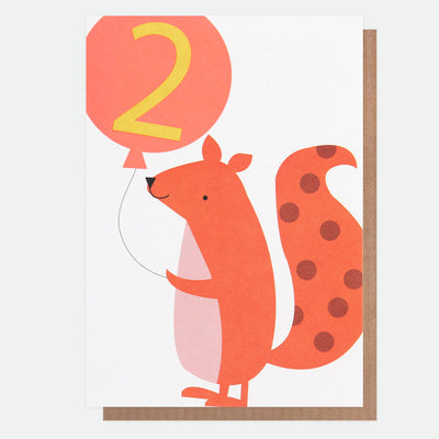 squirrel-2nd-birthday-card-neo029-Single Cards-1