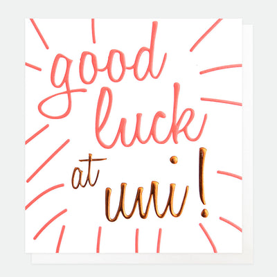 neon-university-good-luck-card-ooh046-Single Cards-1