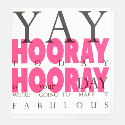 neon-pink-yay-hooray-birthday-card-ovr003-Single Cards-1
