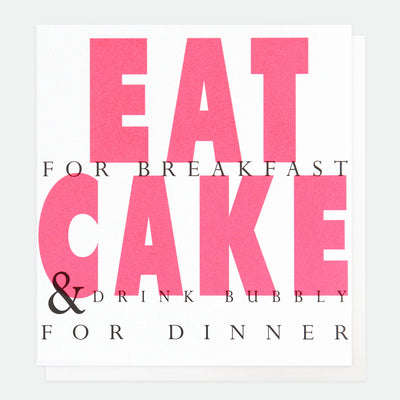 neon-pink-eat-cake-birthday-card-ovr006-Single Cards-1