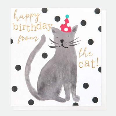 painted-birthday-card-from-the-cat-pai022-Single Cards-1