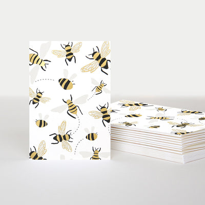 bees-notecards-pack-of-10-pql005-Card Packs-1