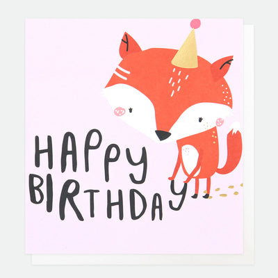 party-fox-birthday-card-pty009-Single Cards-1