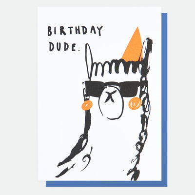 neon-llama-birthday-card-scr009-Single Cards-1