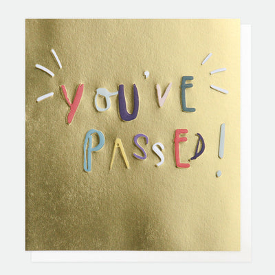 gold-youve-passed-congratulations-card-srd013-Single Cards-1