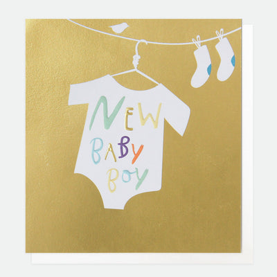 gold-new-baby-boy-card-srd015-Single Cards-1