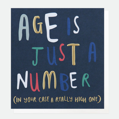 age-is-just-a-number-birthday-card-wrd005-Single Cards-1