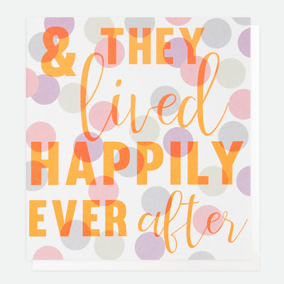 litho-happily-ever-after-wedding-card-lho002-Single Cards-1