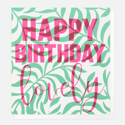 litho-palm-leaf-birthday-card-lho009-Single Cards-1
