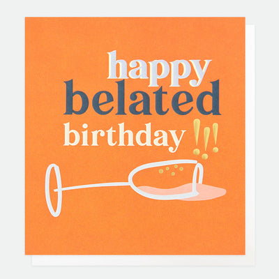 spilt-champagne-belated-birthday-card-nfr010-Single Cards-1