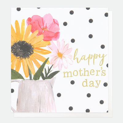 painted-flowers-mothers-day-card-pai019-Single Cards-1