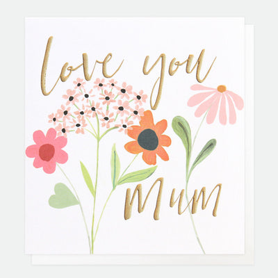 flowers-love-you-mum-mothers-day-card-qui056-Single Cards-1