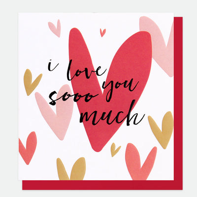 i-love-you-so-much-hearts-valentines-card-spt013-Single Cards-1