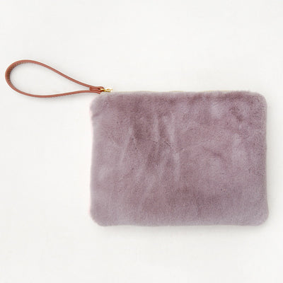 grey-faux-fur-pouch-frc101-Purses and Pouches-1
