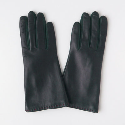 dark-green-leather-cashmere-lined-gloves-da5955-Gloves-1