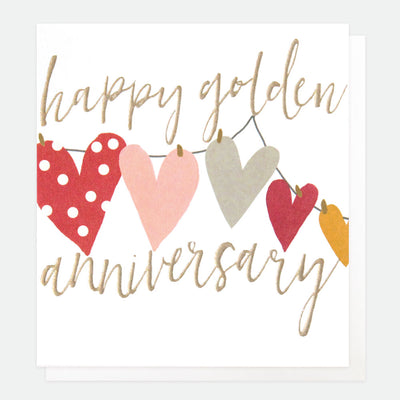 classic-golden-anniversary-card-qui054-Single Cards-1