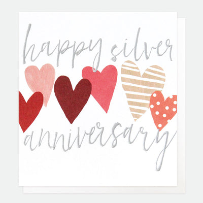 classic-silver-anniversary-card-qui051-Single Cards-1