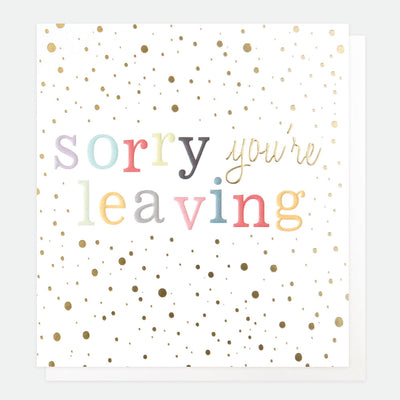 gold-confetti-sorry-youre-leaving-card-con014-Single Cards-1