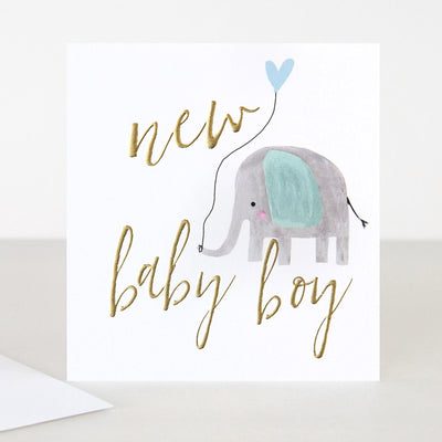 elephant-balloon-new-baby-boy-card-qui040-Single Cards-1