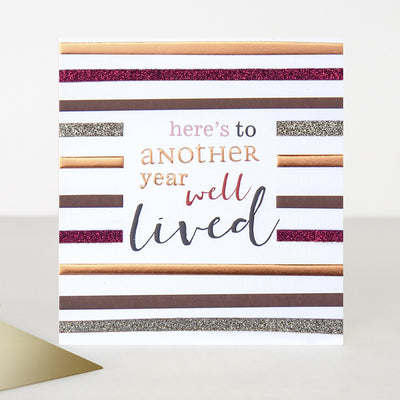 glitter-year-well-lived-birthday-card-hip002-Single Cards-1