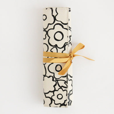doodle-flower-travel-jewellery-roll-jwr104-Jewellery Storage-1