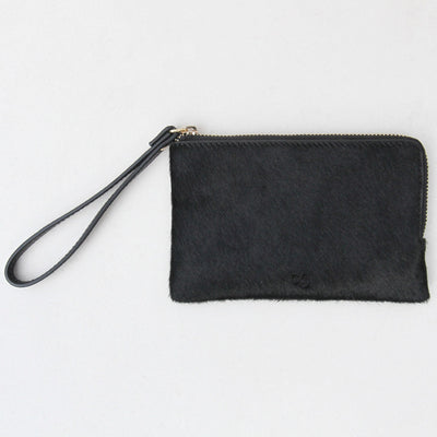 black-pony-skin-leather-leather-wristlet-purse-da5343-Purses and Pouches-1